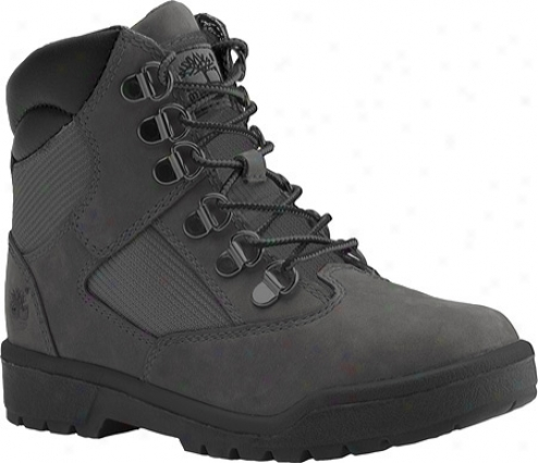 """""""timberland Field Boot 6"""""""" Leather And Fabric (infant Boys') - Grey Leather/mesh"""""""