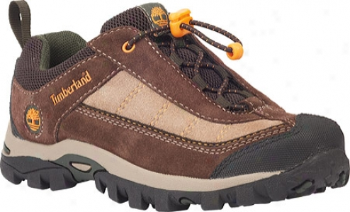 Timberland Hypertrail Trail Mix Lace Ox (infants') - Brown/green Suede/synthetic