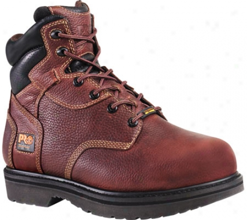 """timberland Intrinsic Met Guard 6"""" Steel Toe (men's) - Burgundy Oiled Full Grain Leather"""