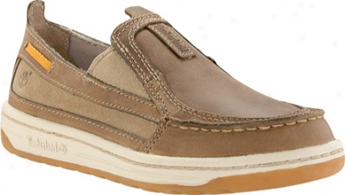 Timberland Ksa Ryan Springs Moc Tow Boat Shoe (children's) - Brown Leater