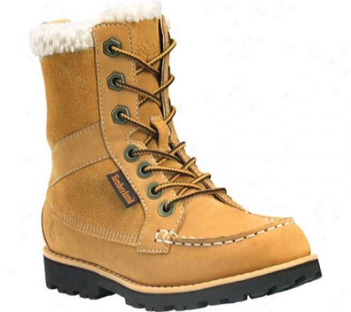 Timberland Lamprey 7-eye Lace-up Boot (boys') - Whea5 Nubuck/suede