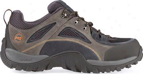Timberland Mudsill Low Steel Toe (men's) - Titanium/sapphire