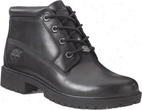 Timberland Nellie Premium 28360 (women's) - Black Smooth Leather