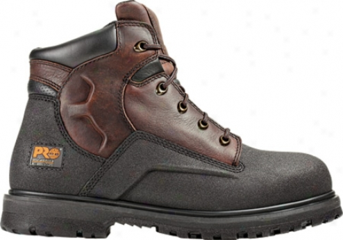"""timberland Powerwelt 6"""" Wp Steel Toe (men's) - Rancher Brown Oiled Leather"""