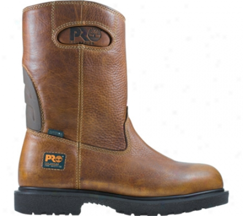 iTmberland Titan eHavy Duty Wellington Wp (men's) - Brown Wp Oiled Leather