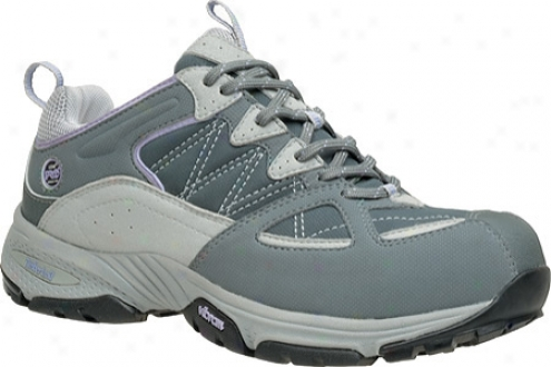 Timberland Willow Trail Esd Hiker Alloy Preservation Toe (women's) - Grey/lavender Synthetic/mesh