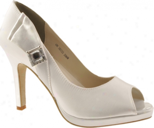 Touch Ups Averil (women's) - White Satin