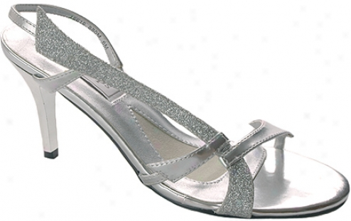Touch Ups Carly (women's) - Silver Metallic/glitter