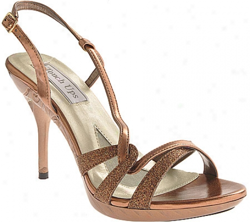 Touch Ups Fortuna (women's) - Bronze Metallic/glitter