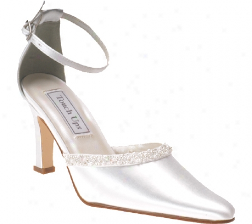 Touch Ups Meredith (women's) - White Satin