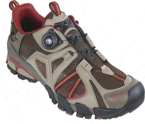 Treksta Sidewinder Trail Runner (men's) - Brown/red