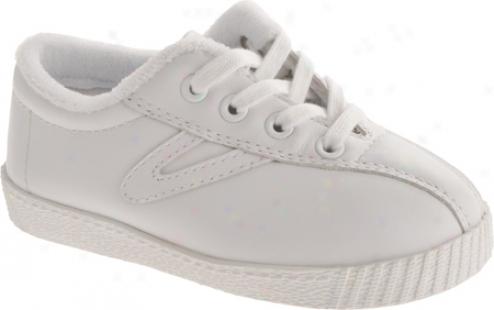 Tretorn Nylite Leather (infants') - White/white