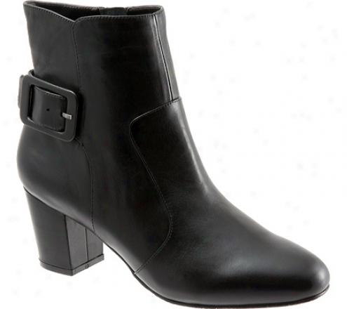 Trotters Jessie (women's) - Black Soft Leather