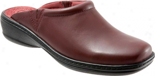 Trotters Kaylee (women's) - Dark Red Burnished Veg Calf Leather