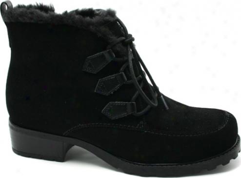 Trotters Snow Flakes (womem's) - Black Suede