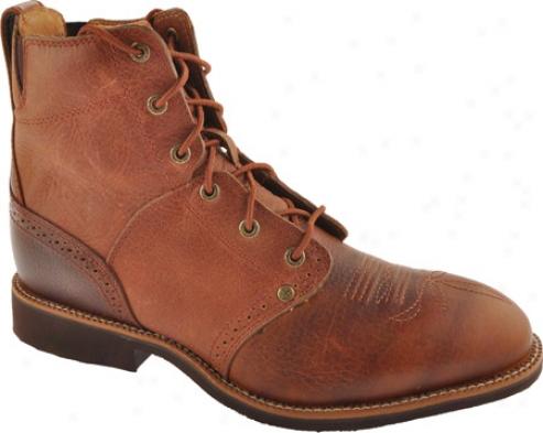 Twisted X Boots Mcrl001 (men's) - Cognac Glazed Pbble/cognac Leather