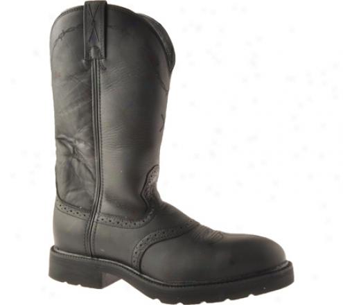 Twisted X Boots Msc0003 (men's) - Black Oiled/black Ldather