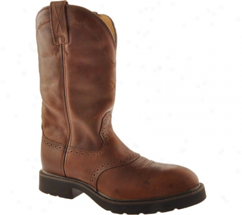 Twisted X Boots Msc0004 (men's) - Oiled Brown/brown Leather