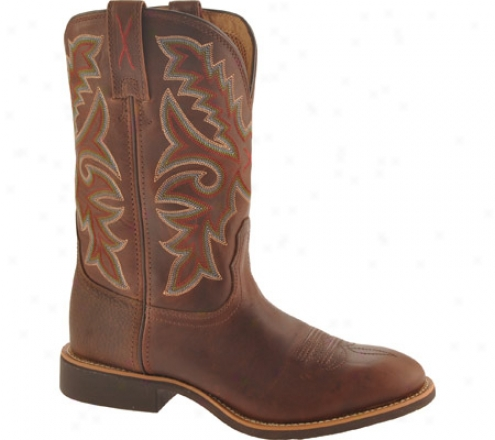 Twisted X Boots Mth0006 (men's) - Oiled Brown/brown