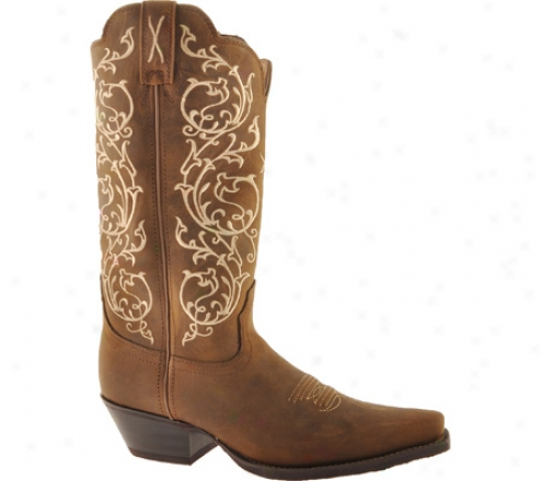 Twisted X Boots Wwt0022 (women's) - Distressed Saddle/saddle Leather