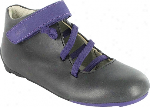 Umi Vybe (infant Girls') - Black/purple Leather