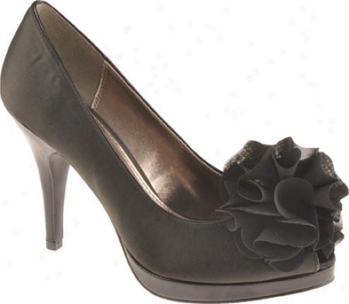 Unlisted By Kenneth Cole Natural Glow (women's) - Black Wet Satin