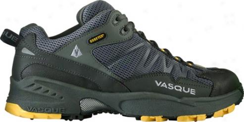 Vasque Velocity Gtx (men's) - Gunmetal/gold