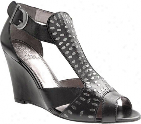 Vince Camuto Desmond (women's) - Black Colorado Leather