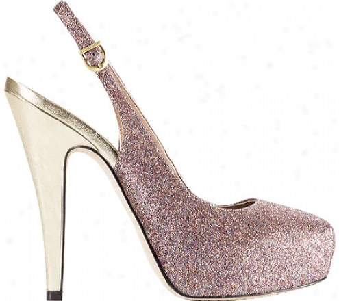 Vince Camuto Kimmy (women's) - Rainbow Small Glitter/new Gold Metallic Nappa