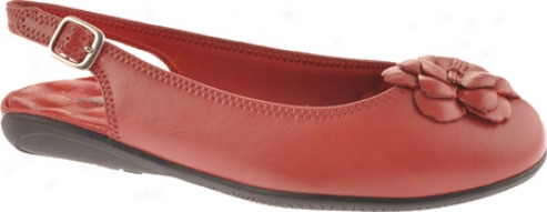 Walking Cradles Bell (women's) - Red Leather