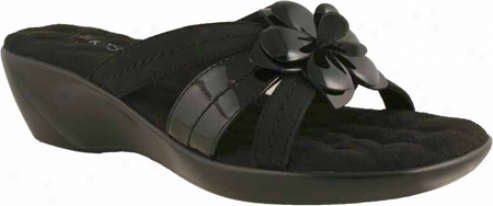 Walking Cradles Cali (women's) - Black Patent/microtouch