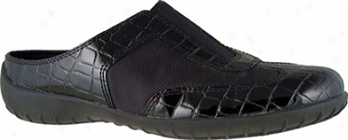 Walking Cradles Cheers (women's) - Black Croc/mesh