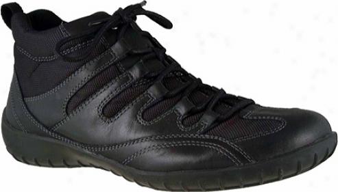 Walking Cradles Clipper (women's) - Black Leather/mesh