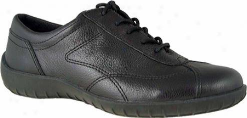Walking Cradles Cobra (women's) - Black Tumbled Leather