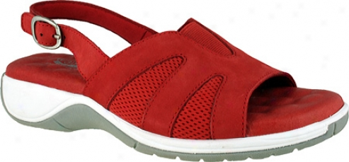 Walking Cradles Lang (women's) - Red Nubuck/mesh