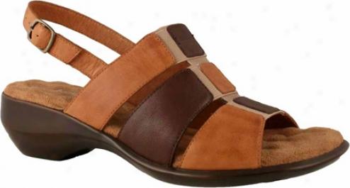 Walking Cradles Laura (women's) - Tan Multi Leather