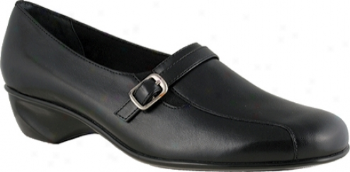 Walking Crasles Trap (women's) - Black Leather
