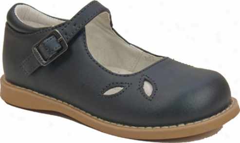 Willits Party (girls') - Navy Leather