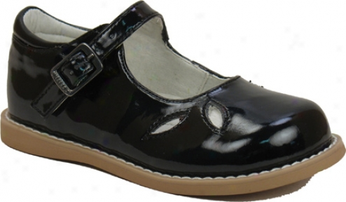 Willits Party (infant Girls' )- Black Patent