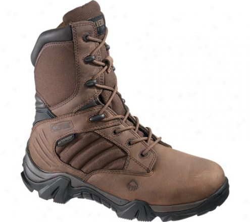"""""""wolverine Cougar Insulated Waterproof Boot 8"""""""" (women's) - Brown/real Brown"""""""