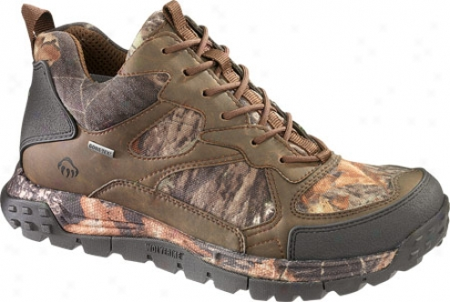 Wolverine Crossbow Insulated Gore-tex Waterproof Hiker (men's) - Brown/mossy Oak® Breakup Ii