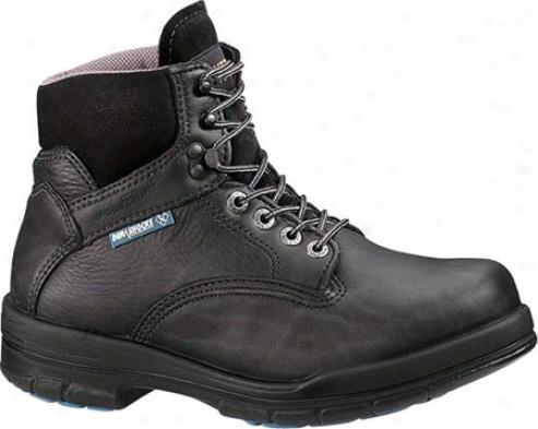 """""""wolverine Durashock Sr Boot 6""""""""-steel Toe Eh (men's) - Black"""""""