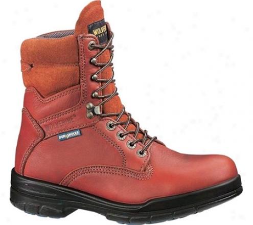 """wolverine Durashock Sr Boot 8"""" (me's) - Brown"""