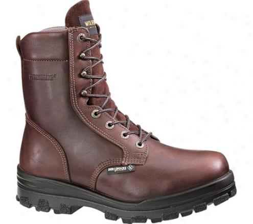 """""""wolverine Durashock Waterproof Boot 8"""""""" Steel Toe Eh (men's) - Brown"""""""