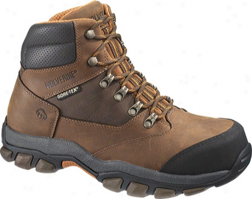Wolverine Harden Gore-tex Waterproof Hiker (men's) - Brown/orange
