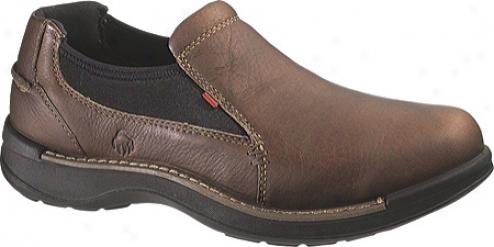 Woverine Hickory Slip On (men's) - Brown
