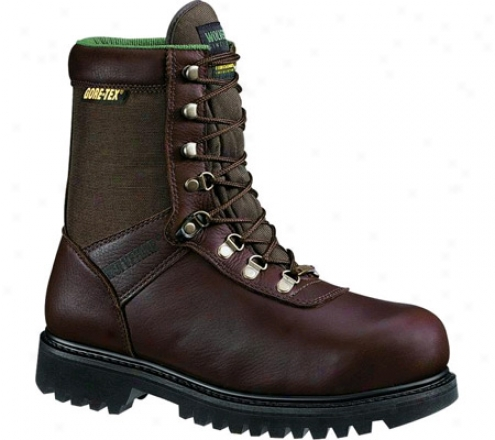 """wolverine Insulated Gore-tex Waterproof Boot 8"""" (men's) - Brown / Maxi Brown Cordura"""