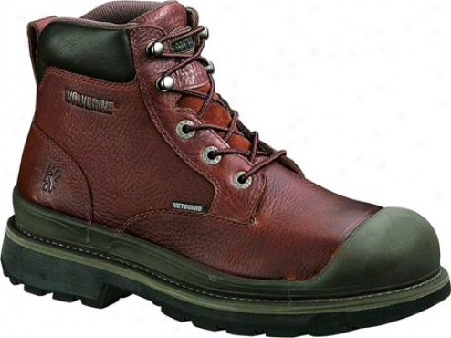 """wolverine Lawson Metatarsal Guard The whole of Weather 6"""" Knife Toe (men's) - Brown"""