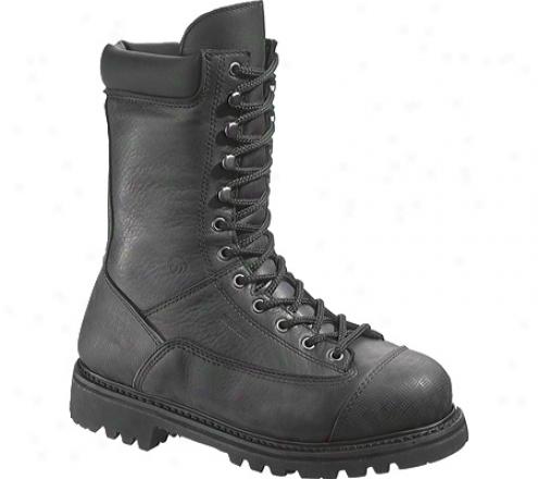 """wolverine Lewis Waterrpoof Miner 10"""" Composite Toe Eh (men's) - Black"""
