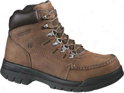 """wolverine Potomac 6"""" English Moc Steel Toe Eh (men's) - Brown"""